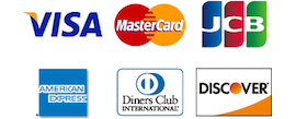 クレジットカートの利用